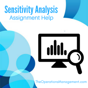 Sensitivity Analysis Assignment Help