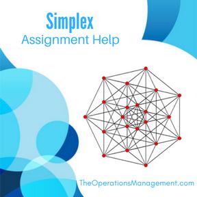 Simplex Assignment Help