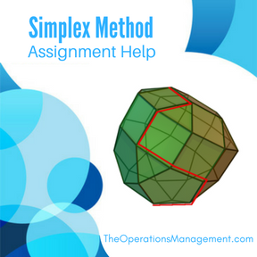 Simplex Method Assignment Help