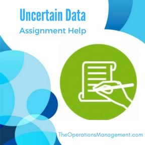 Uncertain Data Assignment Help